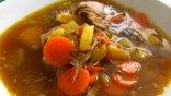 Μοσχαρόσουπα με λαχανικά