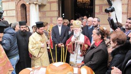 Τίμησαν τον Άγιο Ανδρέα στον Ιερό Ναό του Πολιτιστικού