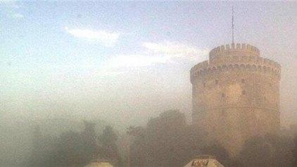 Σε μέτρια επίπεδα η αιθαλομίχλη