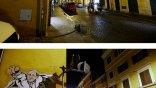 Ιταλία: Έσβησαν το γκράφιτι με τον Πάπα-Σούπερμαν
