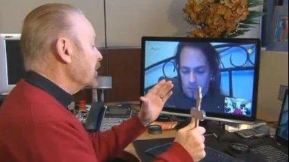 Εξορκισμός μέσω... Skype!