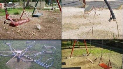 Όταν οι παιδικές χαρές σκορπούν... τρόμο!