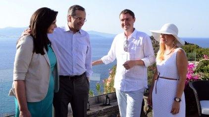 Στην Κρήτη εκτάκτως ο Αντώνης Σαμαράς
