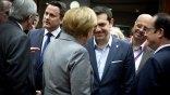 Ολοκληρώθηκε η τηλεδιάσκεψη Τσίπρα με Μέρκελ και Ολάντ