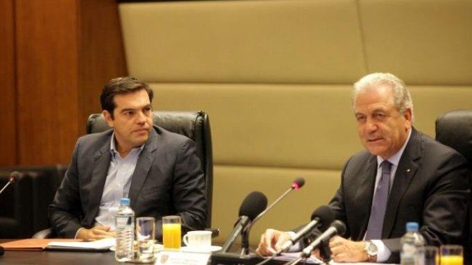 Στον πρωθυπουργό ο Δημήτρης Αβραμόπουλος