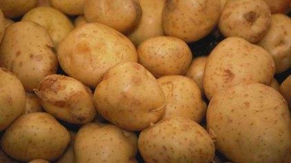 Βαμμένες κόκκινες ...πατάτες!