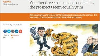 Guardian: Ζοφερή συνέχεια για την Ελλάδα με ή χωρίς συμφωνία