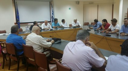 Σύσκεψη στο Επιμελητήριο για το δημοψήφισμα