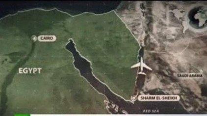 Ετσι έπεσε το Airbus στην Αίγυπτο