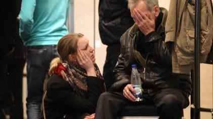 Σπαραγμός στη Ρωσία: Σε κατάσταση σοκ οι συγγενείς των θυμάτων της αεροπορικής τραγωδίας