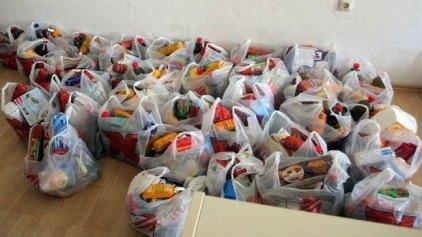 Διανομή φαγητών για τους ωφελούμενους του Προγράμματος Επισιτιστικής και Βασικής Υλικής Συνδρομής