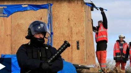 Γαλλία: Μπουλντόζες στο Καλαί - Επιχειρείται η εκκένωση της «ζούγκλας»