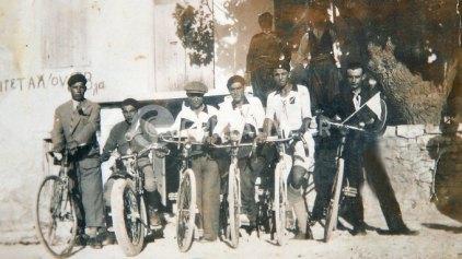 Ποδηλατικός αγώνας Ηράκλειο - Αγία Βαρβάρα το 1930