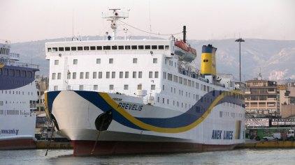 Παρέκαμψε ένα λιμάνι λόγω κακοκαιρίας