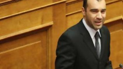 «Heil Hitler» στη Βουλή! Αποβλήθηκε ο χρυσαυγίτης βουλευτής Ηλιόπουλος