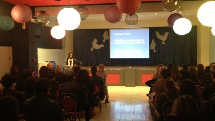 Ομιλία στο Ζάννειο Εκπαιδευτήριο: «Η σεξουαλική αγωγή από τη νηπιακή έως την εφηβική ηλικία».