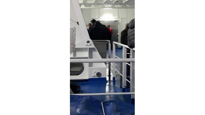 Στο πλοίο και ο Στάθης !