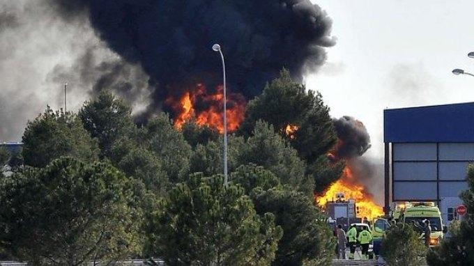 Δέκα νεκροί από συντριβή ελληνικού F-16 σε ισπανικό αεροδρόμιο!