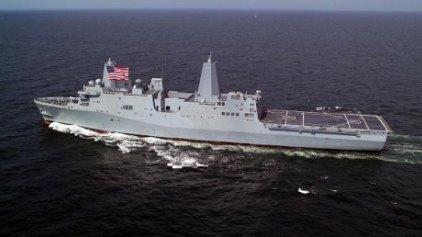 """Το USS """"San Antonio"""" στη Μεσόγειο και σε ετοιμότητα"""