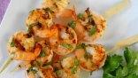 Σουβλάκια με μαριναρισμένες γαρίδες!