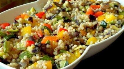 Ψητά λαχανικά με κουσκούς