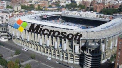 Χορηγία «μαμούθ» της Microsoft στο «Mπερναμπέου»
