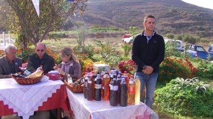 """Εκδήλωση κρασιού στην γιορτή του Αγίου Γεωργίου """"Μεθυστή"""" Παπαγιαννάδων"""