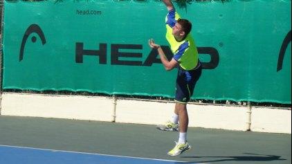 Στο δεύτερο γύρο του 3rd Hellenic Zeus ITF Pro Circuit ο Καλοβελώνης