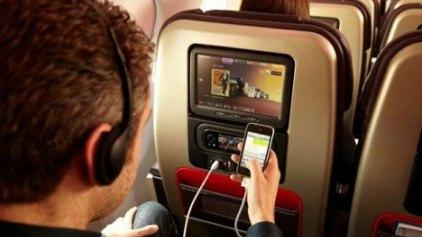'Αρση της απαγόρευσης για χρήση ηλεκτρονικών συσκευών εν πτήσει