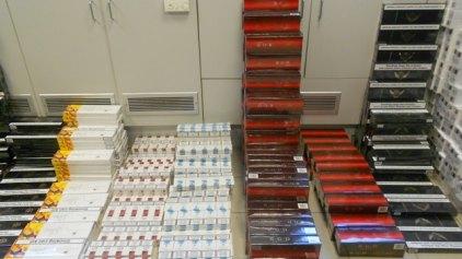 Χιλιάδες λαθραία τσιγάρα στο… λιμάνι
