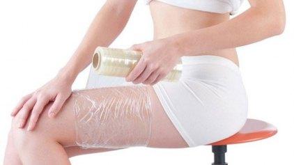 Απλό και θαυματουργό body wrap αδυνατίσματος