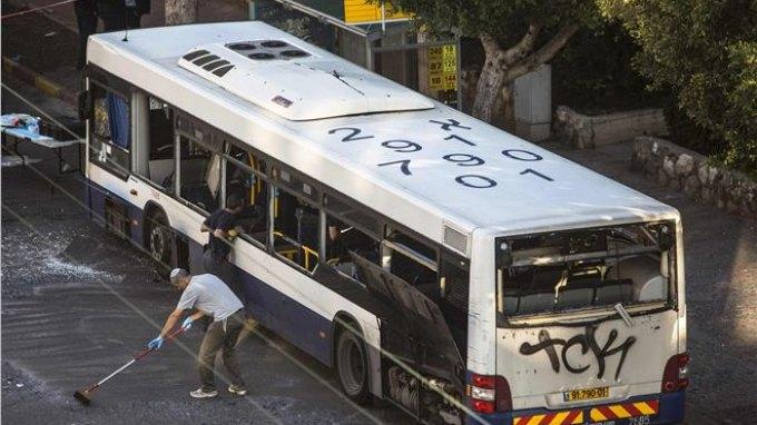 Τρομοκρατική επίθεση, η έκρηξη στο λεωφορείο