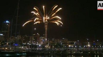 Η Νέα Ζηλανδία υποδέχθηκε το 2014!