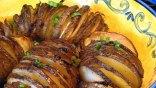 Σκορδάτες πατάτες φούρνου