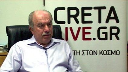 """Ο Νίκος Μυρτάκης στην εκπομπή """"Κρίση και Εξωστρέφεια"""" του Cretalive.gr"""