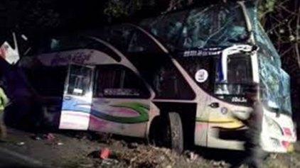 Φονικό δυστύχημα με λεωφορείο που μετέφερε μαθητές