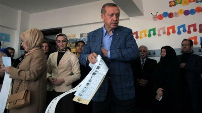 Νικητής ο Ερντογάν με ποσοστά εθνικών εκλογών