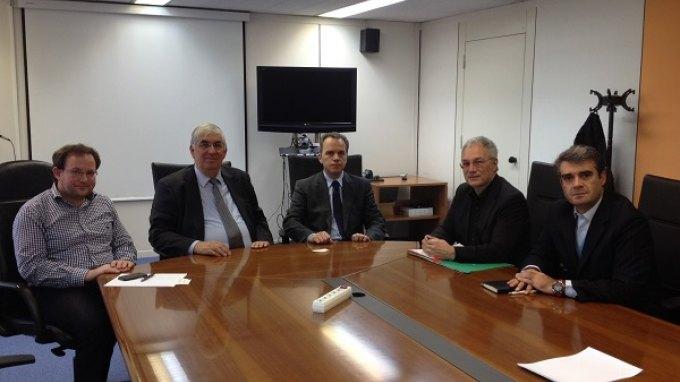 Συνεργασία ENISA-Εθνικής Επιτροπής Τηλεπικοινωνιών και Ταχυδρομείων
