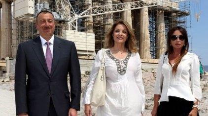 Στην Ακρόπολη με τον Αζέρο πρόεδρο η Γκερέκου
