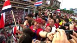 Έξαλλοι πανηγυρισμοί ακόμα και από τον πρόεδρο της Κόστα Ρίκα