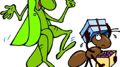 Ο τζίτζικας κι ο μέρμηγκας - η ανατροπή