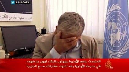 Ξέσπασε σε κλάματα ο απεσταλμένος του ΟΗΕ στη Γάζα