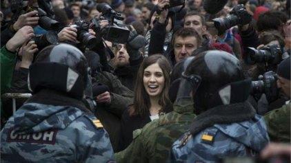 Μήνυση κατά της Ρωσίας κατέθεσαν οι Pussy Riot