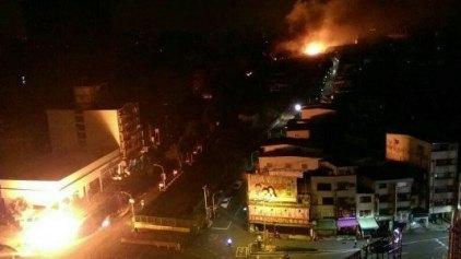 Κόλαση από εκρήξεις αγωγών φυσικού αερίου στην Ταϊβάν