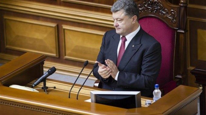 Ουκρανία: Βουλευτικές εκλογές το φθινόπωρο υποσχέθηκε ο Ποροσένκο