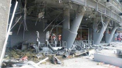 Βομβαρδισμοί στο γήπεδο της Σαχτάρ! (pics)