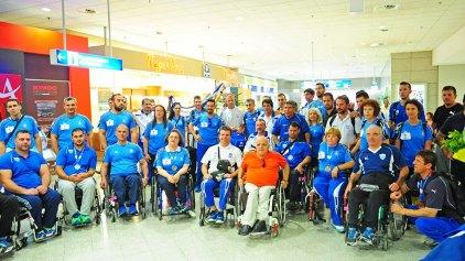 Επιστροφή με 12 μετάλλια από την Ουαλία για την εθνική ομάδα στίβου