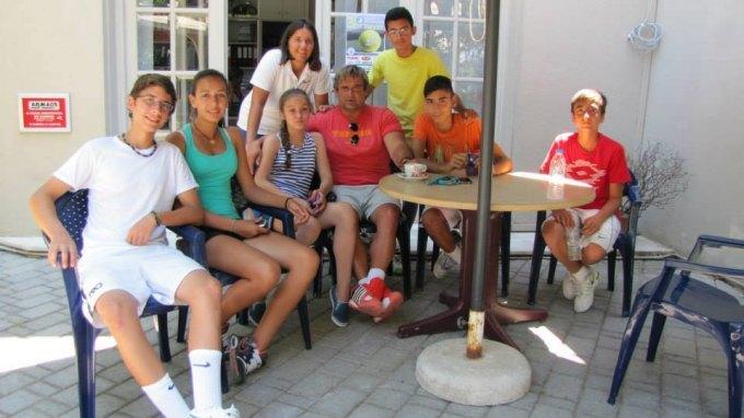 """Μαθήματα τένις υψηλού επιπέδου στο """"Ηράκλειο"""" ΟΑΑ"""