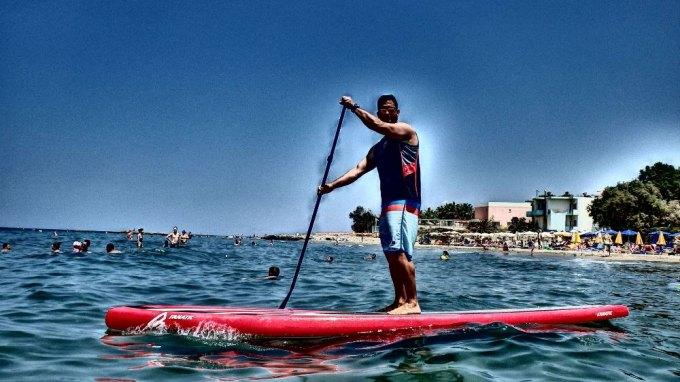Στην Κρήτη ο πρώτος σημαντικός αγώνας SUP - Όρθια Σανιδοκωπηλασία