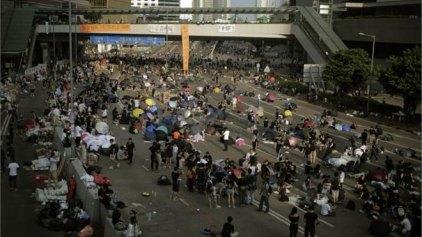 Συνεχίζονται οι διαδηλώσεις στο Χονγκ Κονγκ